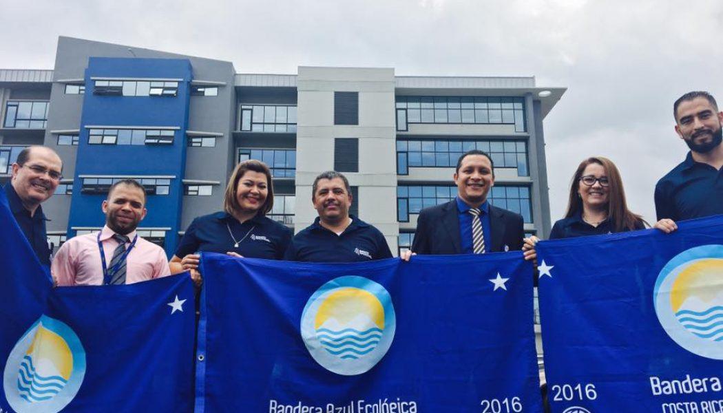 21 oficinas del Banco Nacional galardonadas con Bandera Azul Ecológica