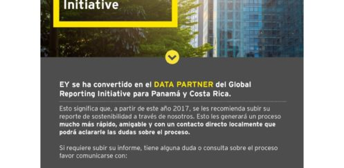Ernst and Young Centroamérica se convierte en Data Partner de GRI