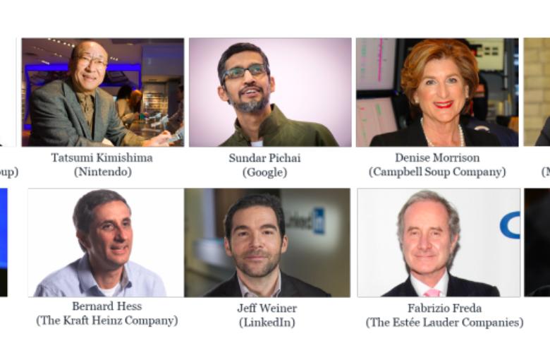 Los 10 CEO's del mundo con la mayor reputación