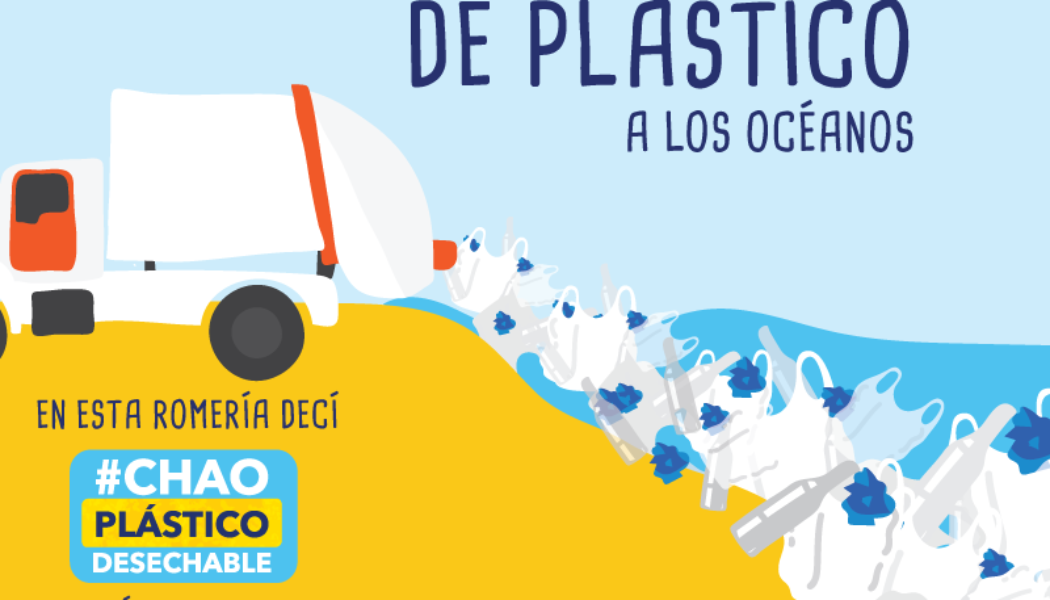Romería:  una efectiva ruta para decirle 'chao' al plástico desechable