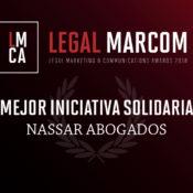 Nassar Abogados recibe reconocimiento por su contribución en la lucha contra el plástico
