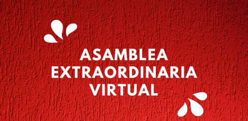 invitación asamblea extraordinaria virtual
